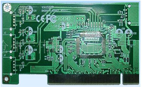 Chinese 4 layer multilayer PCB gold plating PCB display screen PCB